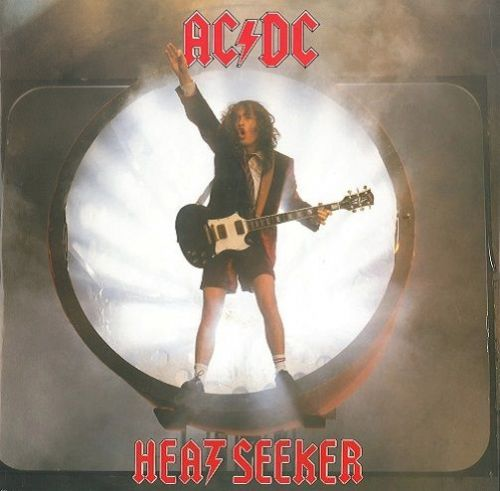 AC/DC Heatseeker Vinyl Record 12 Inch Atlantic 1988